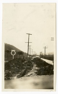 Bedford Street water line extention, Cumberland, Maryland, January 10, 1936