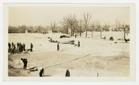 Grading City College athletic field, Baltimore, Maryland, March 30, 1937
