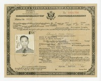 Clemente Cacas Certificate of Naturalization [Document] [Notebook 1]