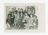 Celebration of Christening of Max Cacas [Photograph, Black and White] [Notebook 1]