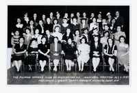 Filipino Women's Club of Washington D.C., Inaugural Meeting, Mrs. Manuel L. Quezon was guest speaker [Photograph, Black and White] [Notebook 1], October 6, 1943