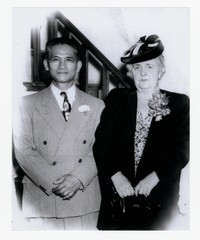 Tomas Rulloda Abellara and Francisca Estrada Abellara [Photograph, Black and White] [Notebook 1], Undated