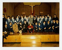 St. Columba Choir, Oxon Hill, Maryland [Photograph, Color] [Notebook 2], Undated
