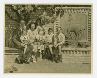 Kneedler Family [Photograph, Black and White] [Notebook 2], October 1946