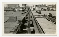 Planks on Pier 7, Baltimore, Maryland, August 26, 1936