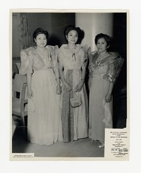 The Inaugural Celebration of the Independence of the Republic of the Philippines, Includes Leona Puyot, at the Shoreham Hotel, Washington, D.C. [Photograph, Black and White] [Notebook 2], July 4, 1946