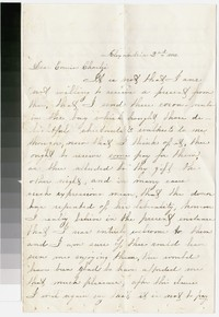 To Charles H. Brooke -- From Mary S. Hallowell