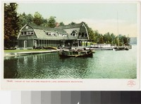 Casino at the Antlers on Raquette Lake, Adirondack Mountains, New York, 1903