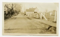 WPA Project 81 Photo 6, Finished street after grading, chiping and oiling, Snow Hill, Maryland, January 17, 1936
