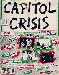 Capitol Crisis fanzine, Issue 2, December 1980