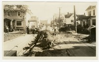 WPA Project 81 Photo 1, Concrete curbs and gutters, Snow Hill, Maryland, November 1, 1935