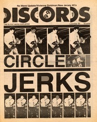 Discords fanzine, September 1981