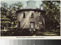 Round House in the woods, Middletown, Rhode Island, 1907-1915