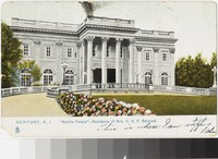 Marble Palace, Newport, Rhode Island, 1901-1907