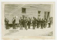 Hopewell Melody boys, WPA colored band class, Crisfield, Maryland, circa 1939