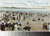 Bathing beach, Newport, Rhode Island, 1907
