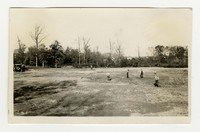 Construction of athletic field, Glenmore Park, Baltimore, Maryland, November 5, 1936