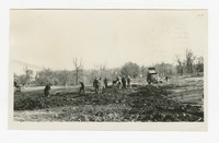 Construction of athletic field, Druid Hill Park, Baltimore, Maryland, November 22, 1935