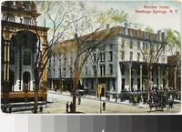 Worden Hotel, Saratoga Springs, New York, 1907-1915
