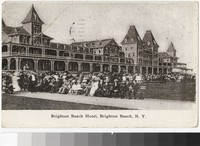Brighton Beach Hotel, Brighton Beach, New York, 1907-1910