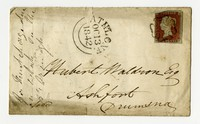 Hubert Kelly Waldron correspondence, October 13, 1842-November 5, 1842
