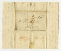 Mrs. Hubert Waldron (Bess) correspondence, August 30, 1822-March 11, 1823