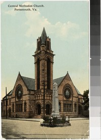Central Methodist Church, Portsmouth, Virginia, 1907-1915