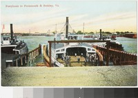 Ferryboats to Portsmouth and Berkley, Virginia, 1907-1915