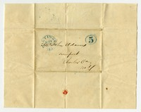 Letters to John Adams, Hamilton family papers, 1846-1848