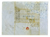 Letters from Charles A. Pye to Hamilton family, Charles County, Maryland, 1851-1855