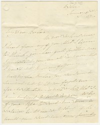Barbara Waldron's correspondence, Ireland, January 31, 1837-February 12, 1840