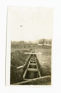 Outfall sewer 21 inch pipe section, Cumberland, Allegany County, Maryland, undated