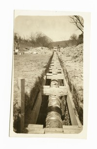 Section 18 inch T.C. pipe, Cumberland, Allegany County, Maryland, May 13, 1936