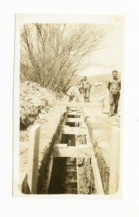 Section of 18 inch sewer, Cumberland, Allegany County, Maryland, May 15, 1936