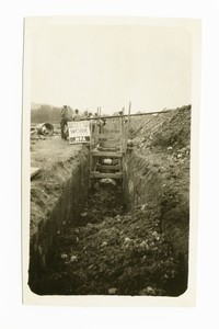 Outfall sewer, Cumberland, Allegany County, Maryland, June 2, 1936