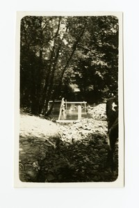 Outfall sewer, Cumberland, Allegany County, Maryland, August 17, 1936