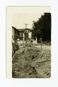 Outfall sewer, Cumberland, Allegany County, Maryland, August 10, 1936
