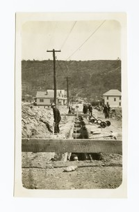 8 inch T.C. sewer on Warren Street, Cumberland, Allegany County, Maryland, April 23, 1936