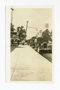 Constructed sidewalk, Glen Burnie, Anne Arundel County, Maryland, circa 1935-1943