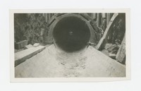 Stormwater drain, Park Heights Avenue, Baltimore, Maryland, August 27, 1936