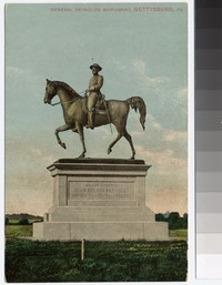 Monument of General John F. Reynolds, Gettysburg, Pennsylvania, 1907-1914
