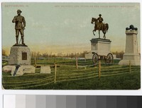 Monuments of General Buford, General Reynolds and Halls Battery, Gettysburg, Pennsylvania, 1907-1914