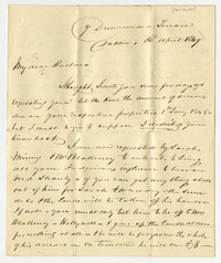 Barbara Waldron correspondence, January 8, 1851-March 1851