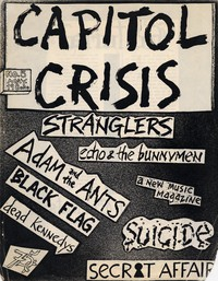 Capitol Crisis fanzine, Issue 5, May 1981