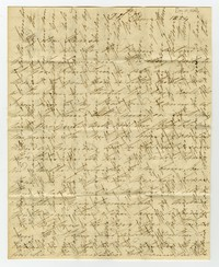 Maria Waldron correspondence, January 27, 1824
