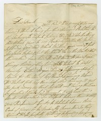 Frank Waldron correspondence, May 25, 1839