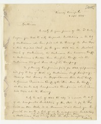 Dennis Claude (b. 1782) -- to Joseph Brown, J.S. Collins, and Henry Snyder, 1845, 1848