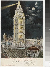 Tower at Dreamland, Coney Island, New York, 1906