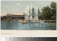 Fountain, Willow Grove, Pennsylvania, 1901-1907