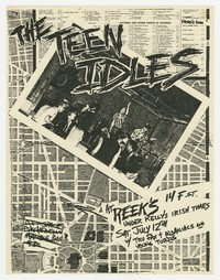 Teen Idles, Tru Fax and the Insaniacs and The Young Turds at Reek's in Washington, D.C., July 12, 1980